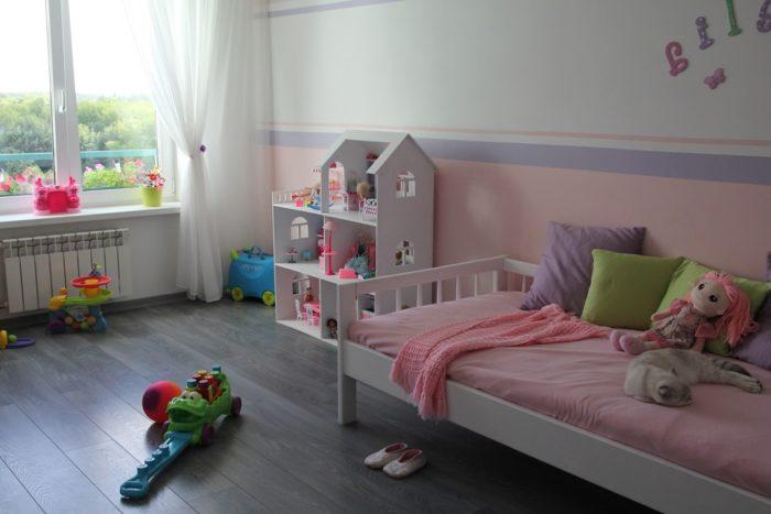 Белая детская мебель для девочек