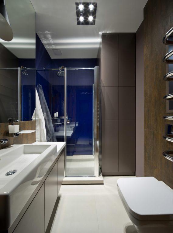 Ванна или душевая в квартире студии