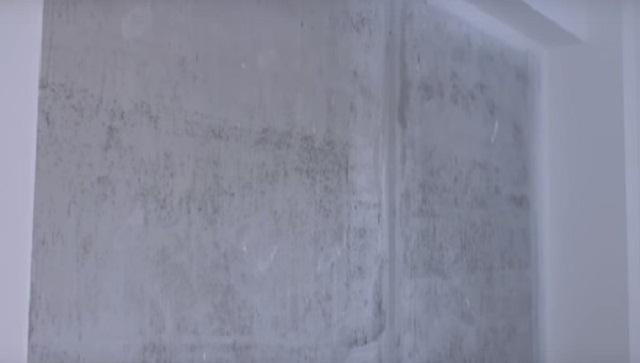 Вначале стена подготавливается