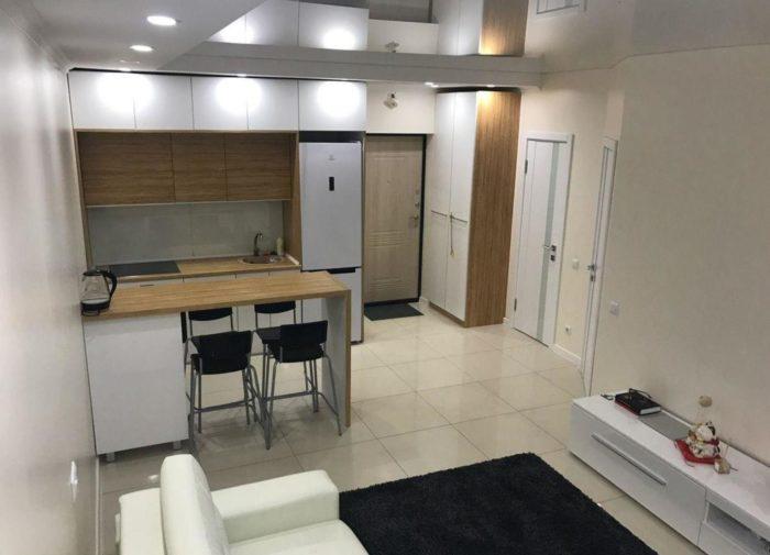 Дизайн квартиры студии 23 метра