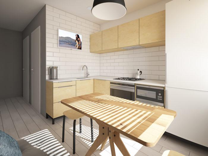 Дизайн кухни 7.5 метров в хрущевке