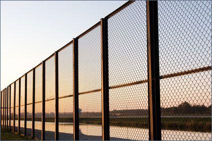 Забор из сварных секций