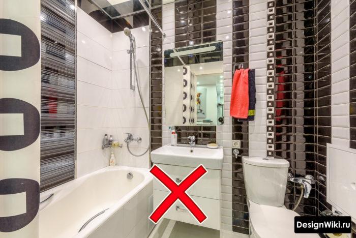 Как правильно раскладывать плитку в ванной в хрущевке