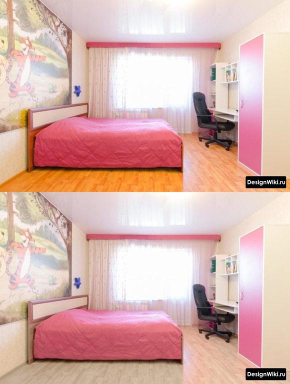 Как сочетать цвета в детской комнате для девочки-подростка