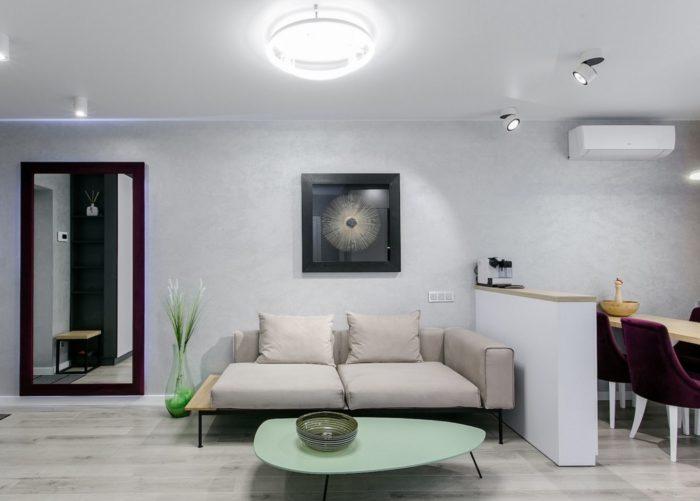 Квартира-студия с совмещённой прихожей