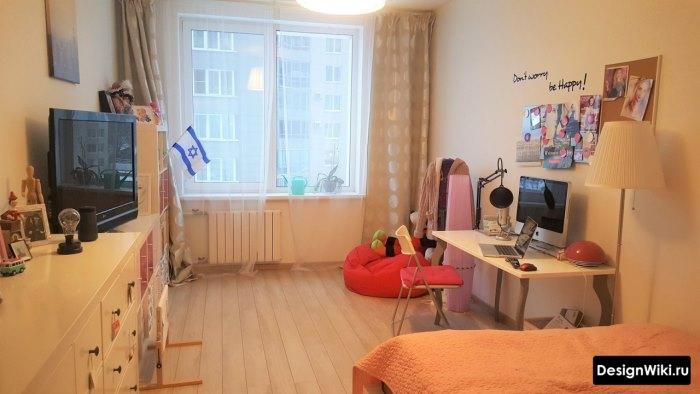 Комната декорированная девочкой-подростком