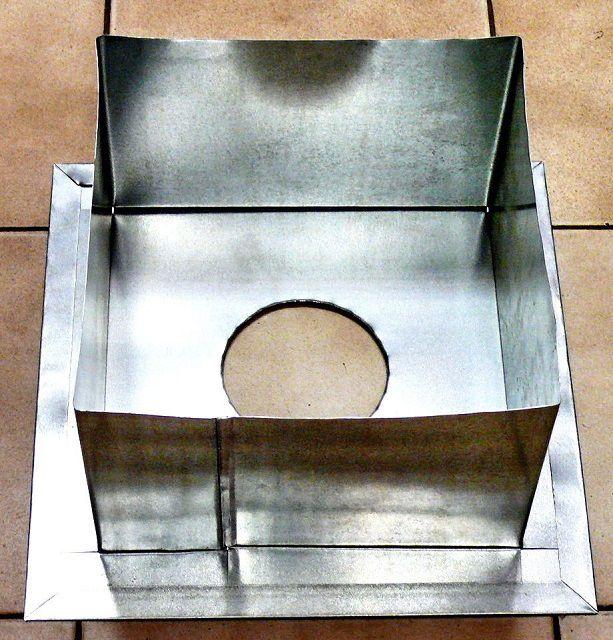Проходной блок - специальный короб для потолочного перекрытия