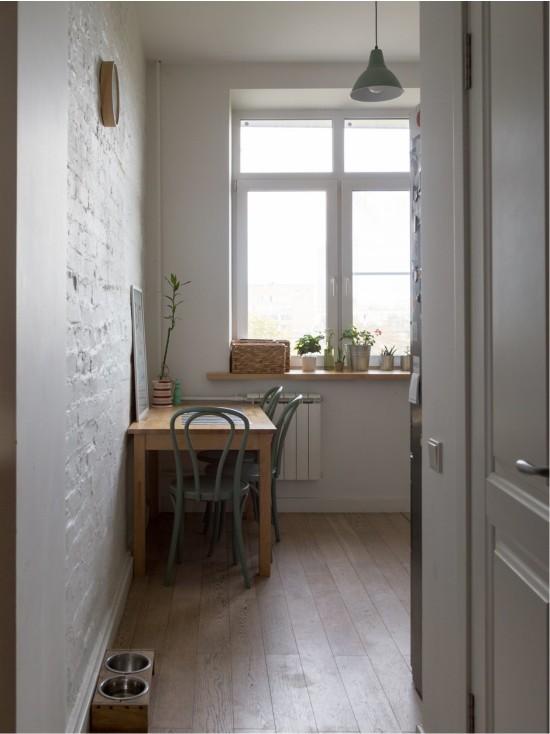 Кухню можно делать без двери