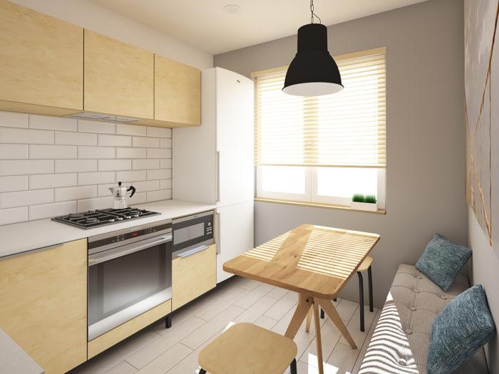 Маленькая кухня 8 м кв