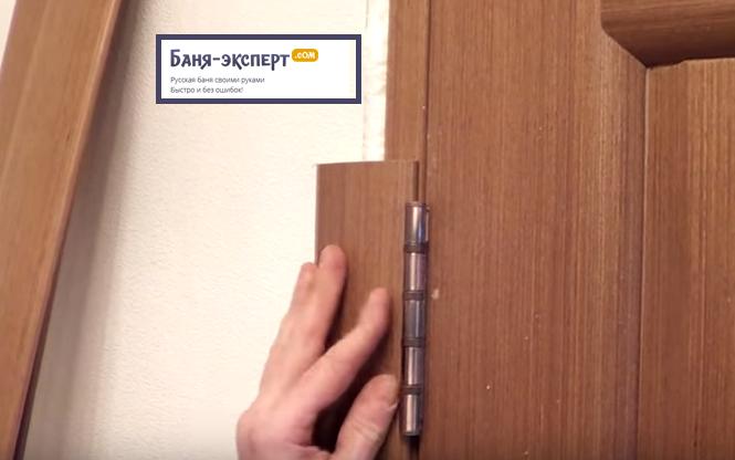 Наличник не должен мешать открыванию и закрыанию двери