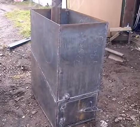 Оборудуем печь топочной дверцей