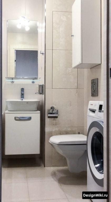 Планировка ванной в хрущевке с туалетом и стиральной машиной
