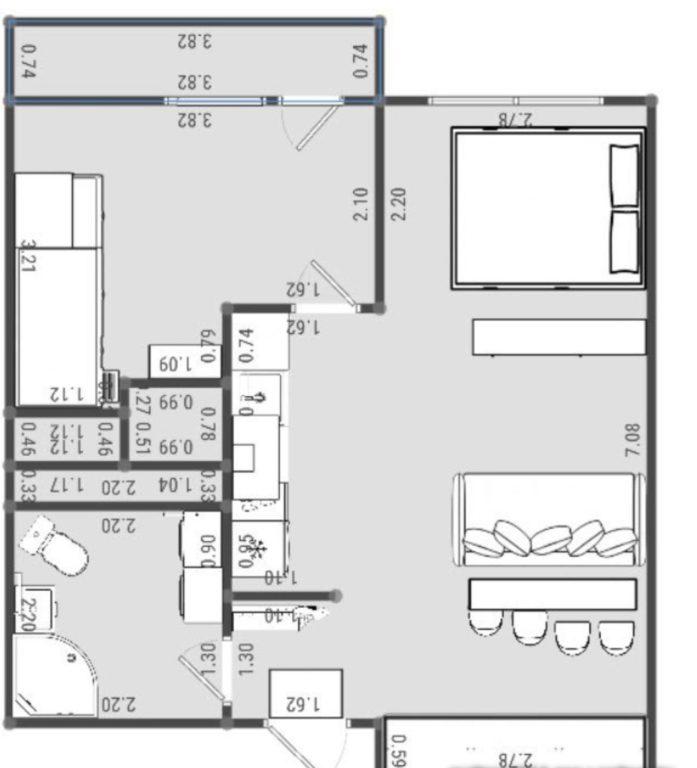 Планировка квартиры студии с двумя детьми