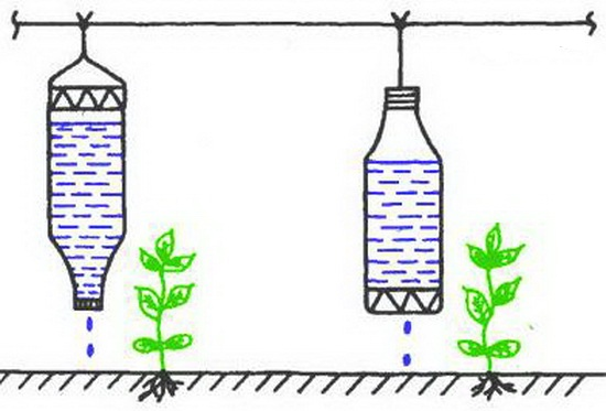 Подвесная система капельного полива