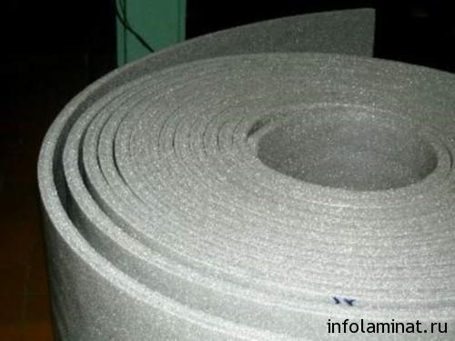 Подложка под ламинат 10 мм