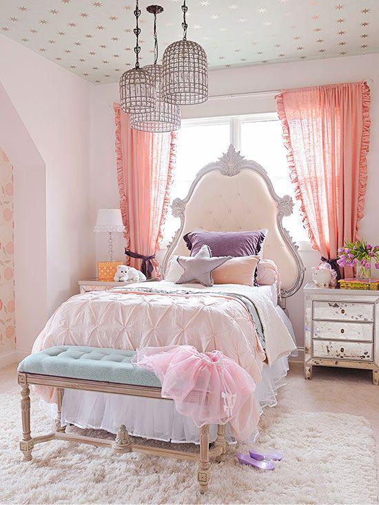 Пример обустройства спальной зоны