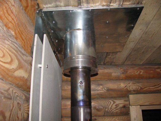Термоизоляция стен и потолочного перехода
