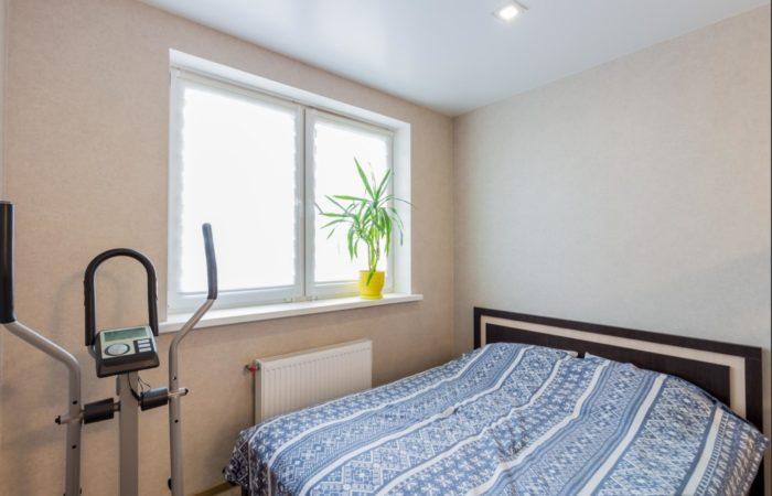 Спальная зона в гостиной