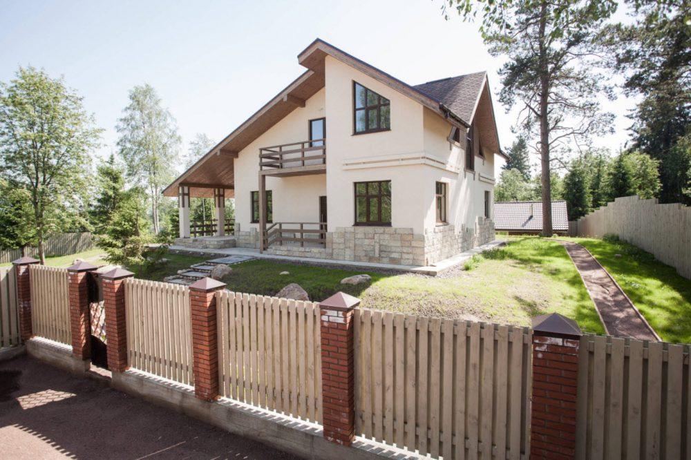 комбинированная крыша для небольшого домика