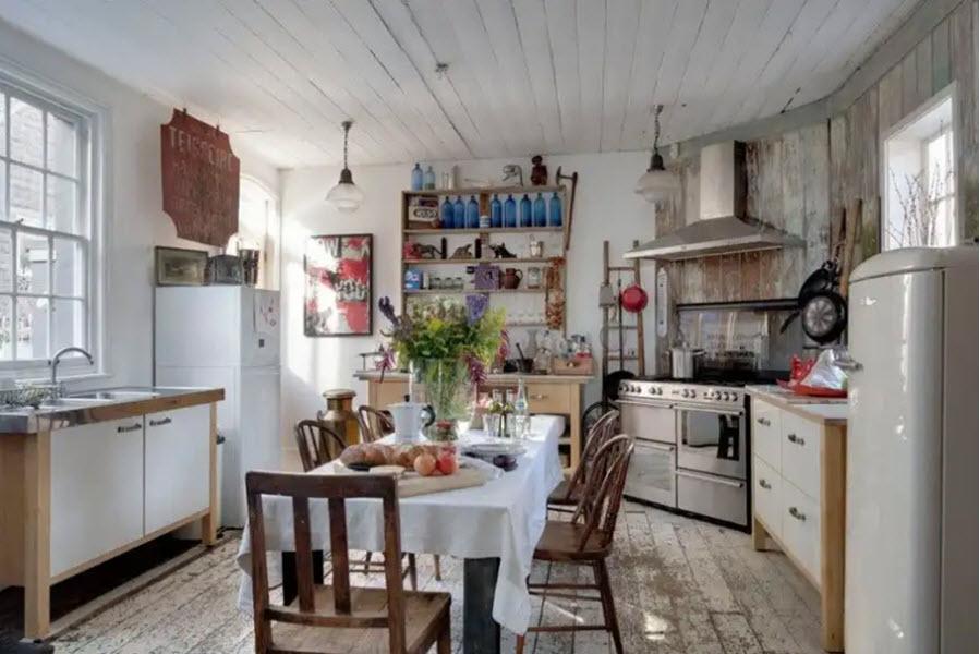 летняя кухня закрытого типа