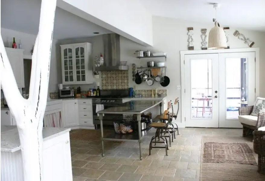оформление дачной кухни