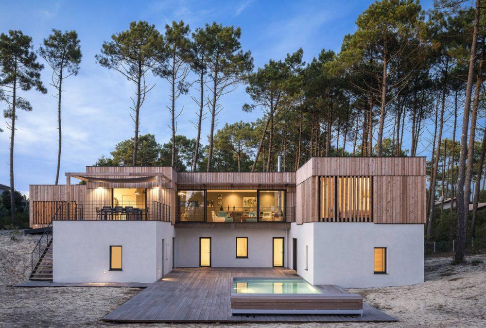 плоская крыша над террасой