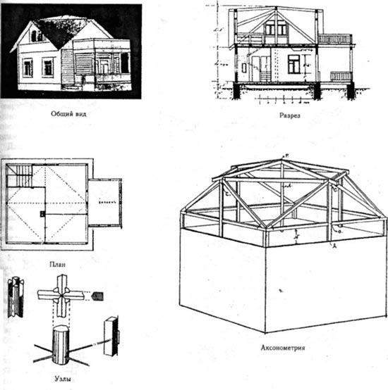 Схема крыши Судейника