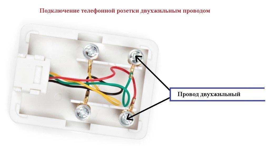 Как подключить телефонную розетку