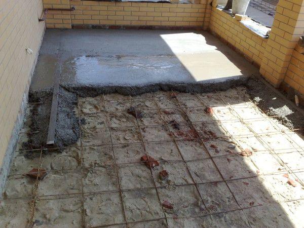 Как сделать черновой бетонный пол по грунту