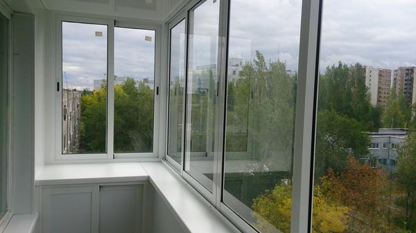 Выбирая балконную систему, обращайте внимание на ее качество