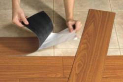 Укладка винилового ламината: особенности монтажа
