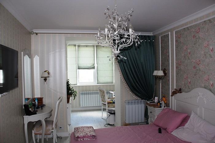 Дизайн спальни с лоджией_фото20