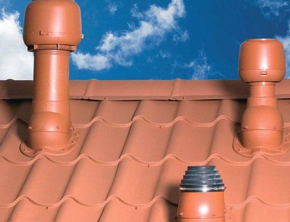 вентиляционные трубы на крышу