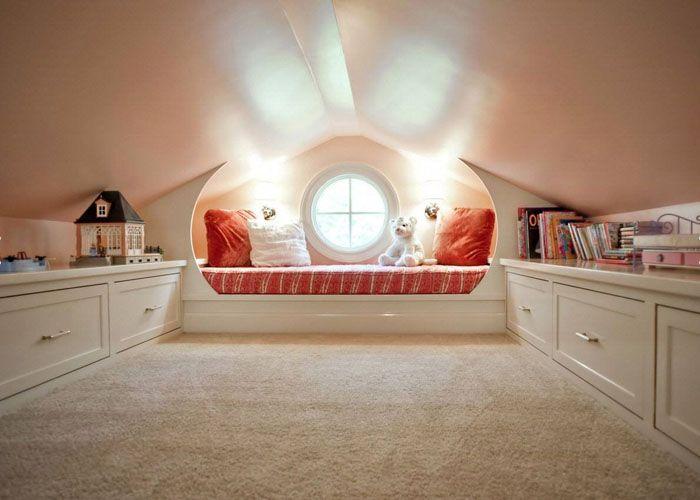 Такая стильная детская комната станет любимым местом для ребёнка