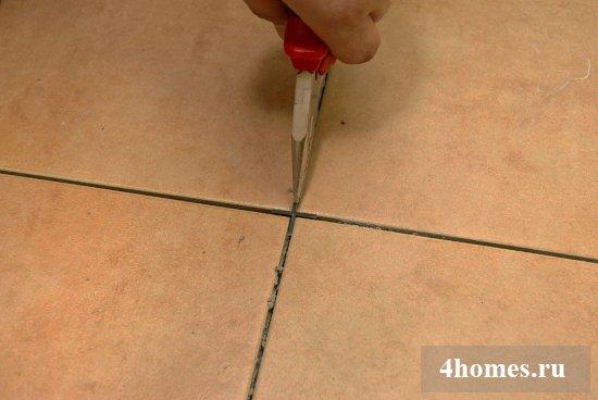 расход затирки для плитки