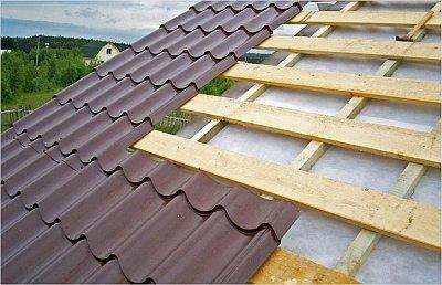 стропильная система крыши под металлочерепицу