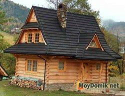 Датская вальмовая мансардная крыша