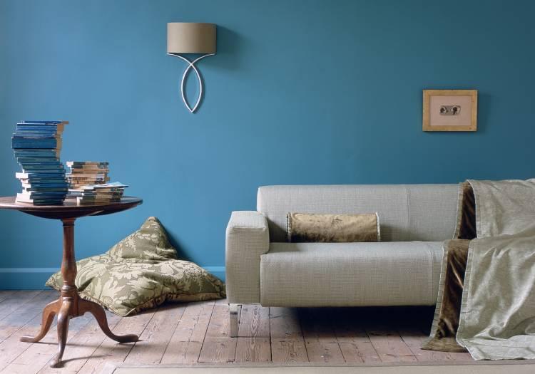 Покраска стен из гипсокартона
