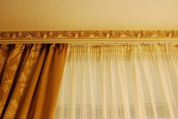 гибкий потолочный карниз, фото 11