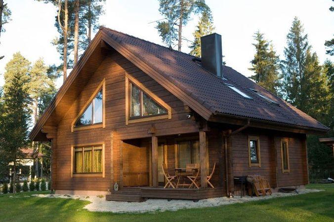 Цвет стен и крыши подобраны удачно