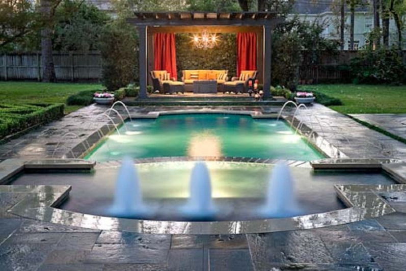 дизайн бассейна в частном доме