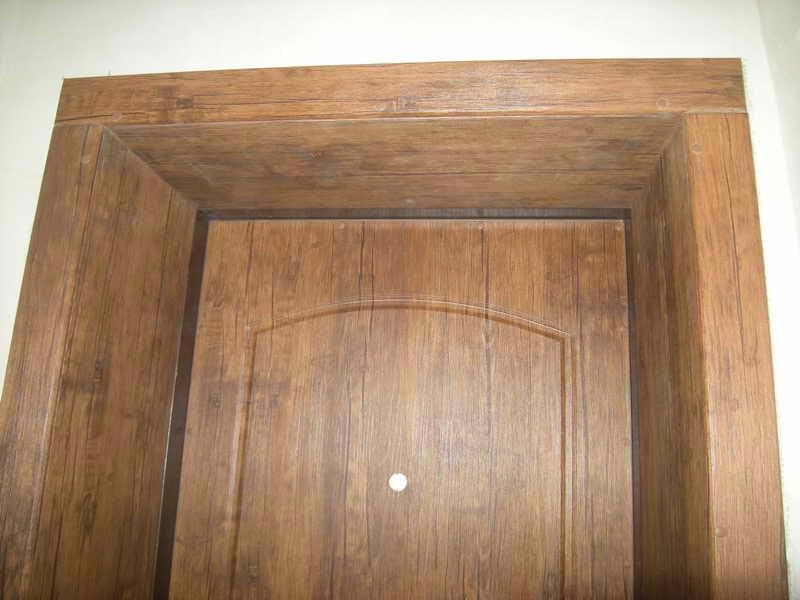 Дверные откосы из натурального дерева