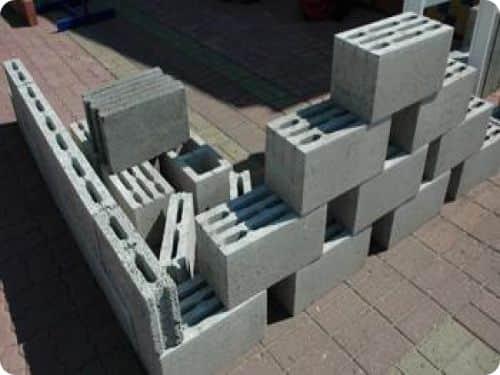 Пустотелые керамзитобетонные блоки