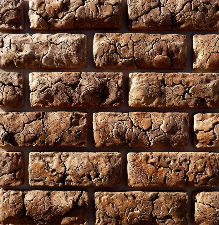 Так как формы с узором, близким к натуральному камню, то результат облицовки достоин высокой оценки