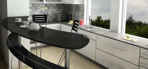 кухня с балконом дизайн интерьер, фото 25