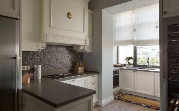 интерьер кухни 10 кв с балконом, фото 27