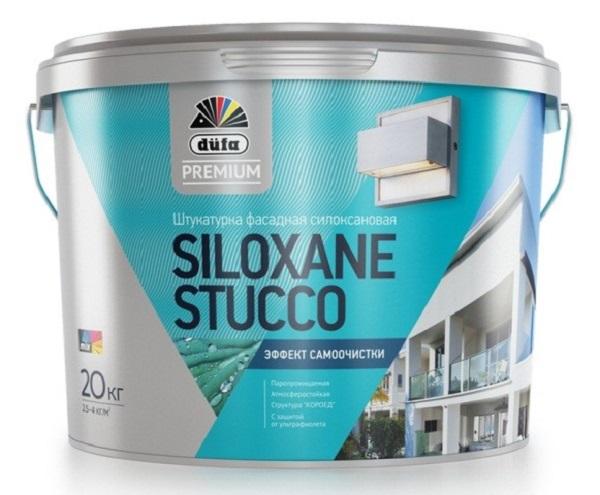 В эту штукатурку добавлен силоксан – разновидность силикона