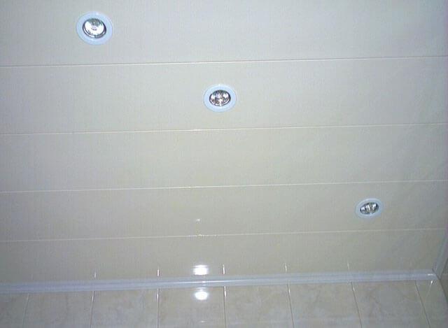 как делать навесной потолок из панелей