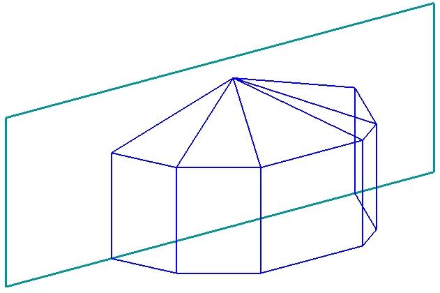 Пристройка многоугольная