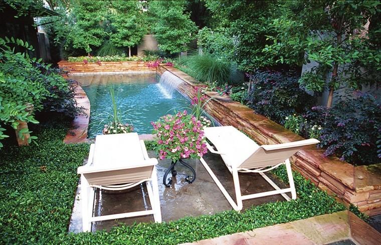 Дизайн бассейна на участке 45 фото идей для участка